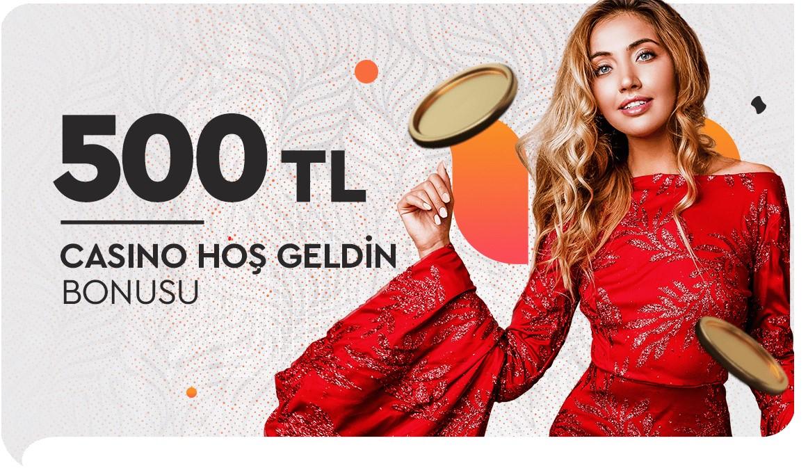 Maksibet 500 Tl Casino Alanında Hoşgeldin Bonusu